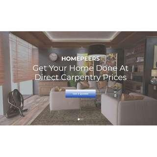 Get Your Home Renovated at Direct Carpentry Prices