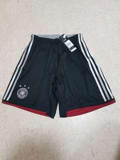 Bn authentic Adidas Germany away soccer football shorts