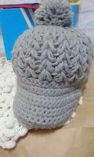 🚚 毛球針織帽