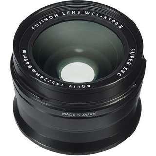 🚚 Fujifilm WCL-X100 II and TCL-X100 II