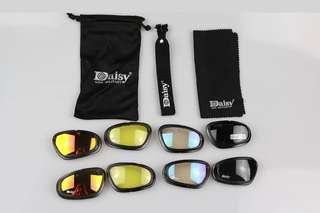 cd8af773f196c C5 Polarized Army Goggles Sunglasses