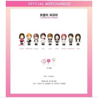 TWICE OFFICIAL CHARACTER FIGURE