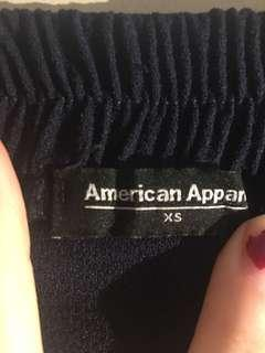 American Apparel navy trousers