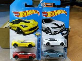 Hot Wheels Chevrolet Corvette BMW Honda lot