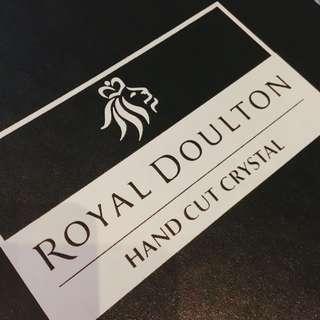 Royal Doulton 水晶酒杯
