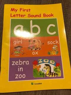 My first letter sound book