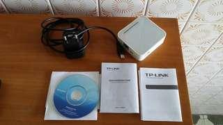 TP Link Portable Wireless N Router