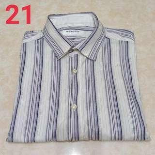 🚚 21、BOYCOTT條紋男士襯衫$100