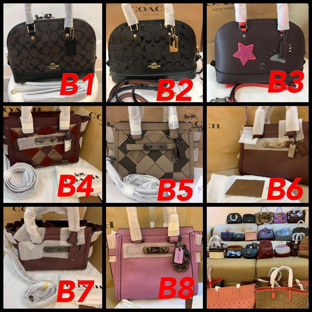 (25/03/19)Ready Stock Authentic coach men leather wallet clutch money clips laptops bag tablets backpack messenger crossbody bag
