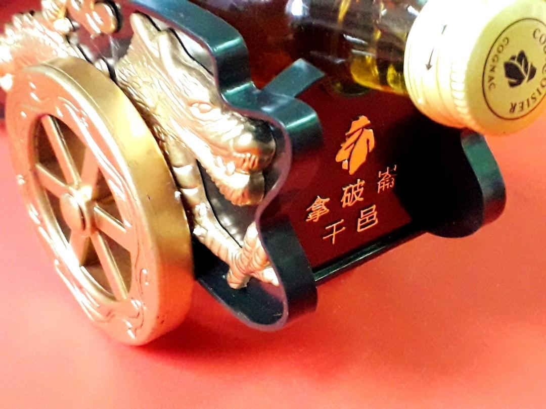 """拿破崙 """" 龍鳳程祥 """" 酒辦炮架 1對"""