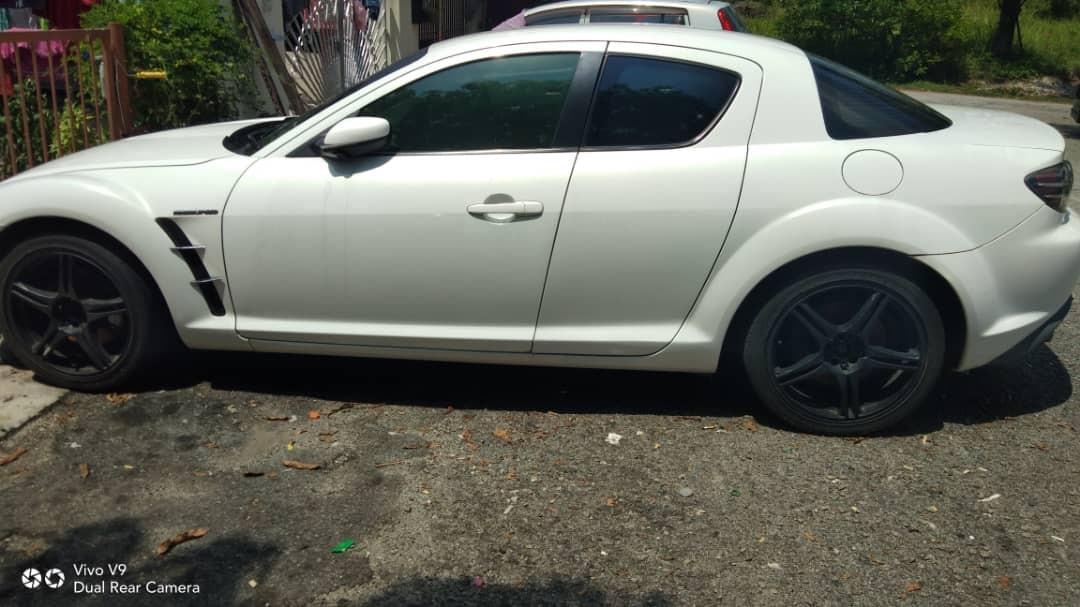 🇸🇬🚘🇸🇬🚘🇸🇬🚘🇸🇬🚘🇸🇬🚘🇸🇬🚘 MAZDA RX8 1.3A  *_RM7 00_* SIAP READY PERAK KERETA/MOTOR SINGAPORE UNTUK SPARE PART TIADA