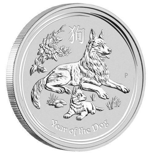 Australian Lunar Silver Coin Series II (Year of the Dog 2018)The Perth Mint Australia