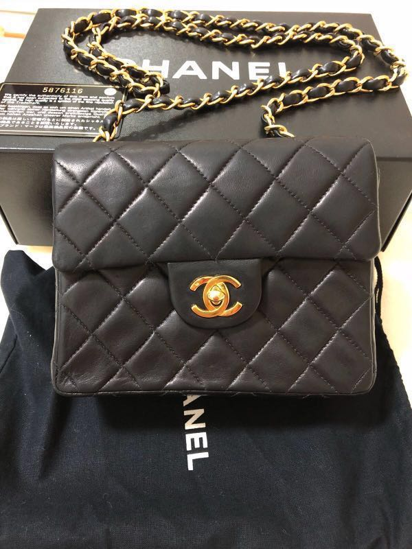 8c2610016be0 Authentic Classic Chanel Bag Black
