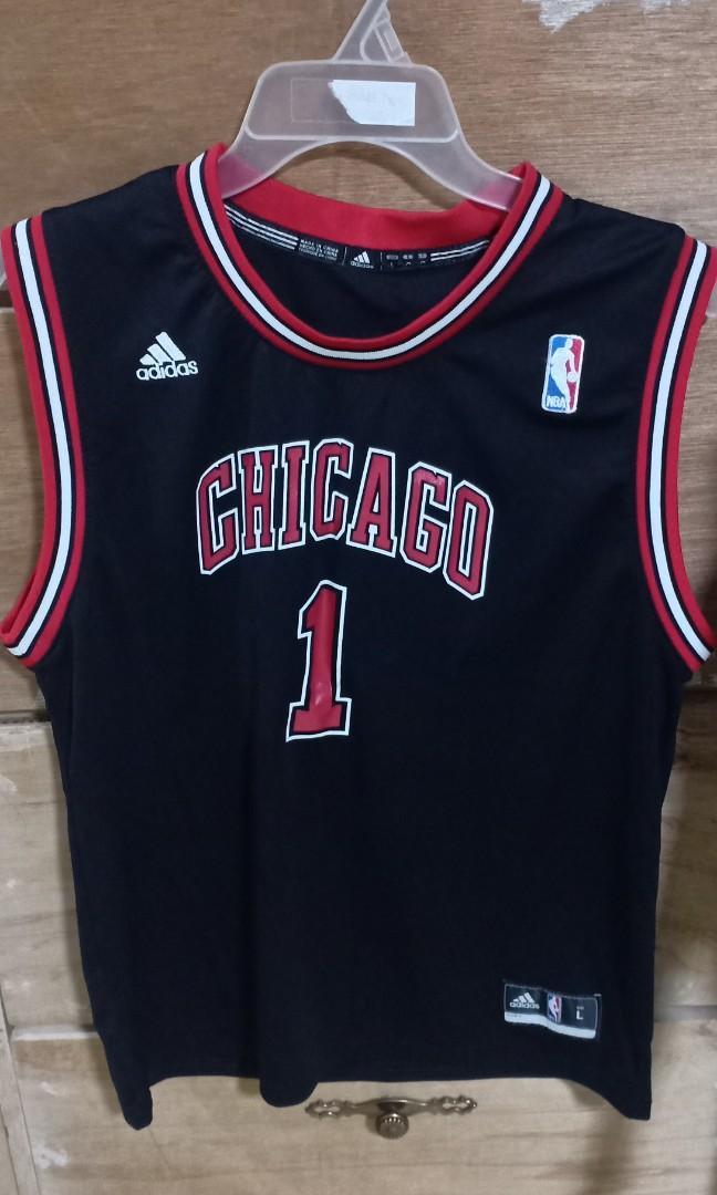 official photos f1b15 43386 Authentic Derrick Rose Chicago Bulls Jersey on Carousell