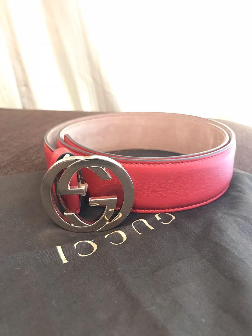 136a30b65243 Authentic Gucci Belt size 80cm, Women's Fashion, Accessories, Belts ...