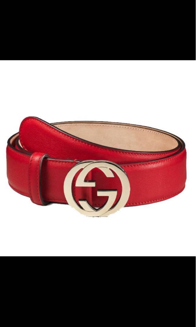 97485fc2bc366 Authentic Gucci red leather belt authentic! Price reduced , Women's ...