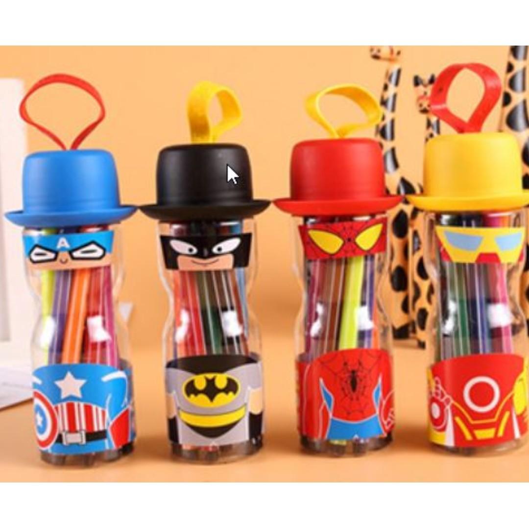 Avenger Theme Goodies Bag! Marker Pen Stationery Set