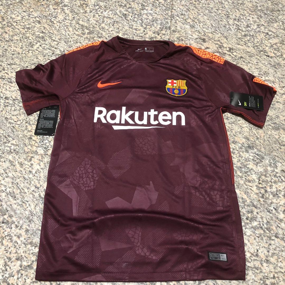be32f915109 Barcelona FC 2017 18 Third Jersey