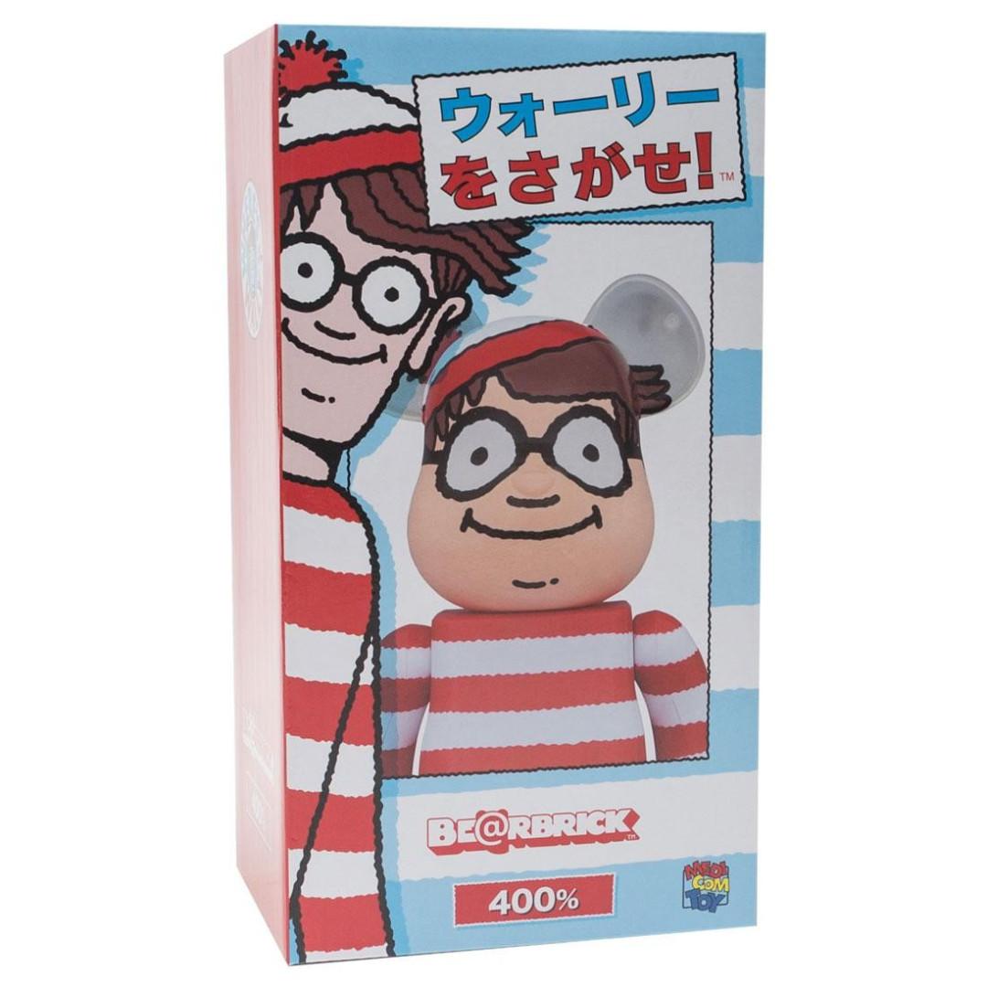 24a048df Bearbrick Where's Wally 400%, Toys & Games, Bricks & Figurines on ...
