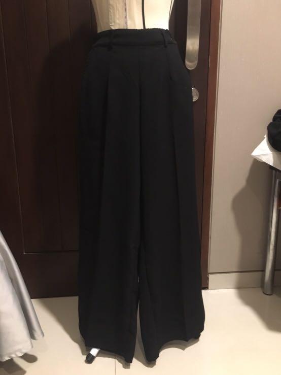 Black long cullote