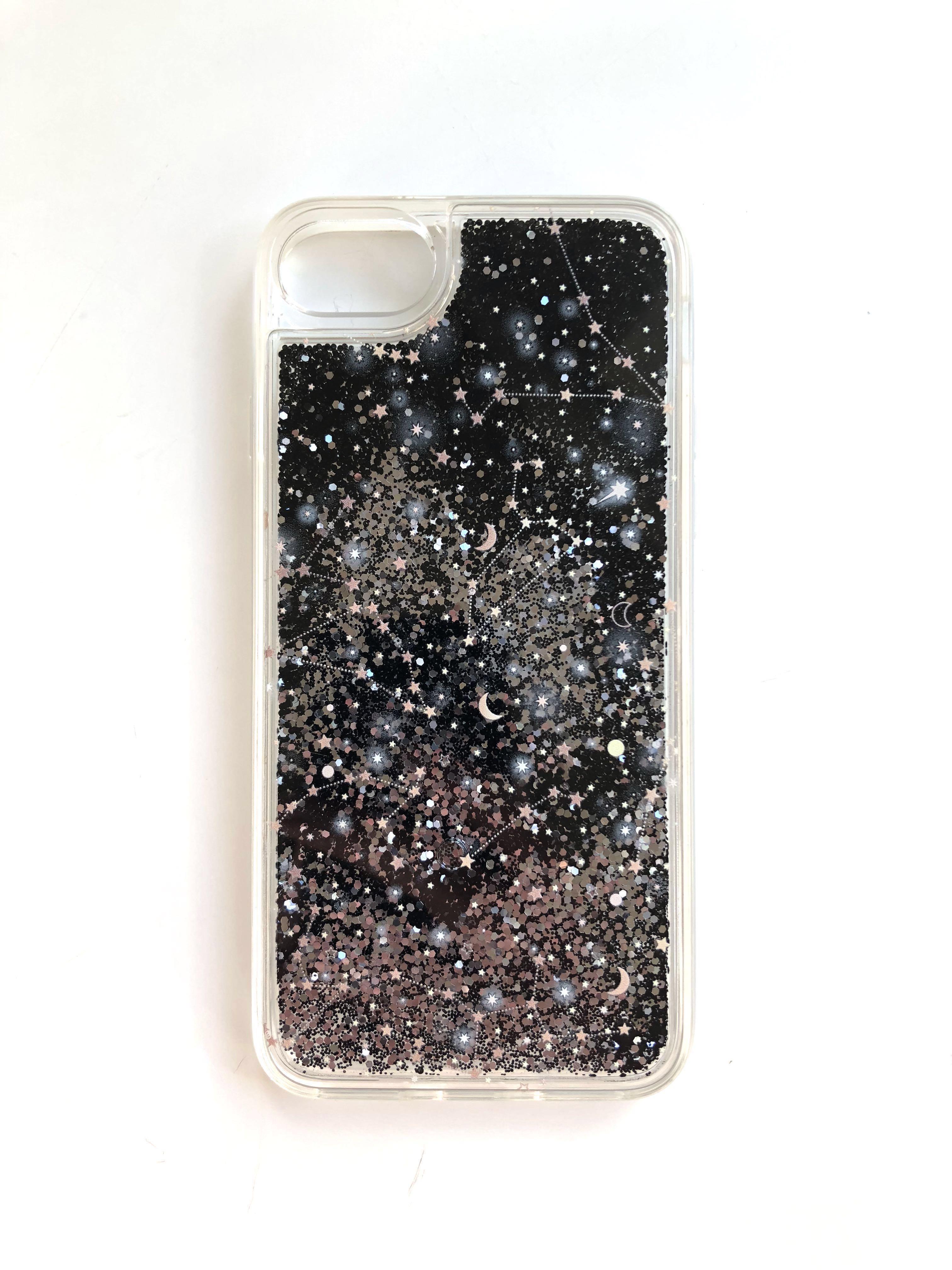 Casetify Liquid glitter constellation case (IPhone 8)