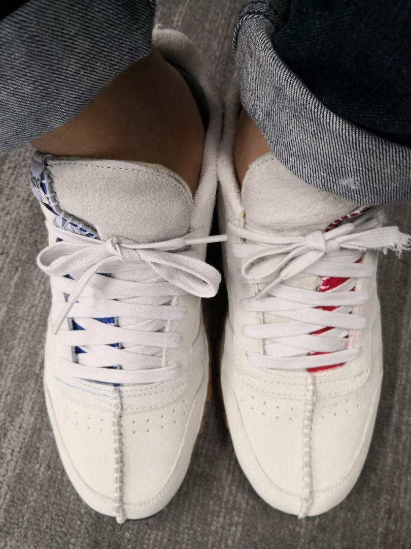 galope República George Bernard  Reebok x Kendrick Lamar Classic Leather Deconstructed Limited, Men's  Fashion, Footwear, Sneakers on Carousell