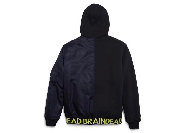 Converse x Brain Dead Hooded Bomber Jacket