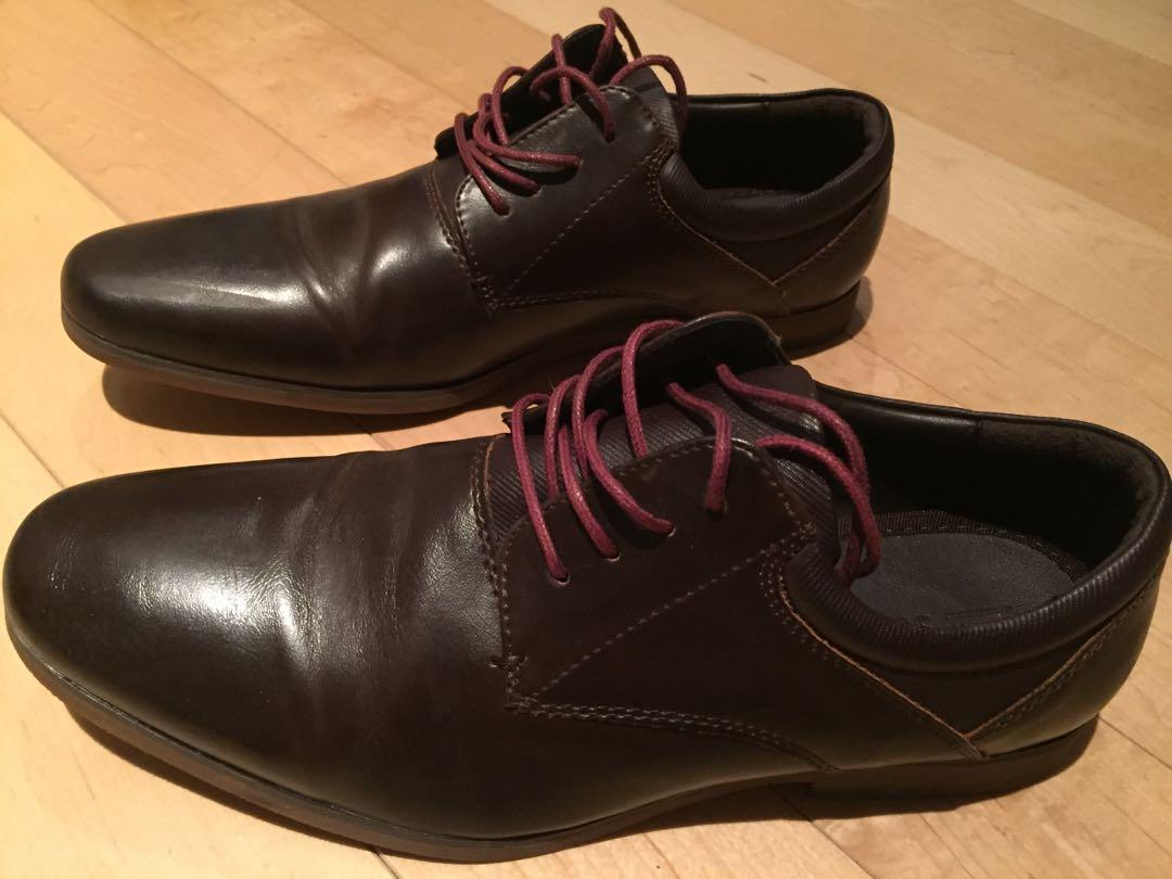 Dress Shoes (Dark Brown/Magenta) Size 7 Call It Spring