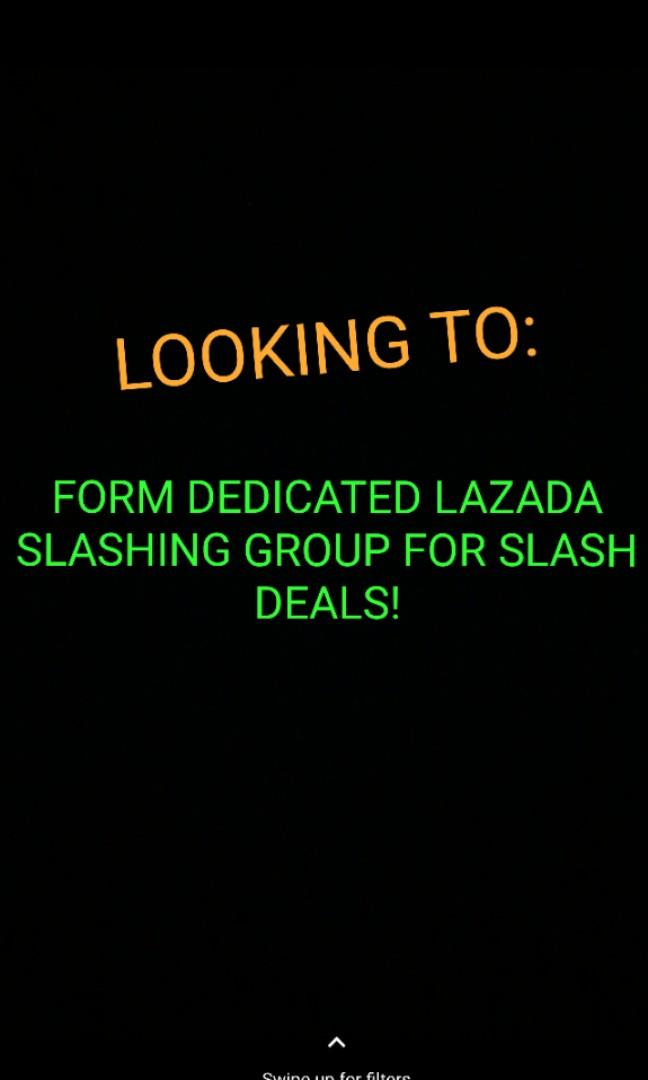 Forming Lazada Slash Deal Group Everything Else On Carousell