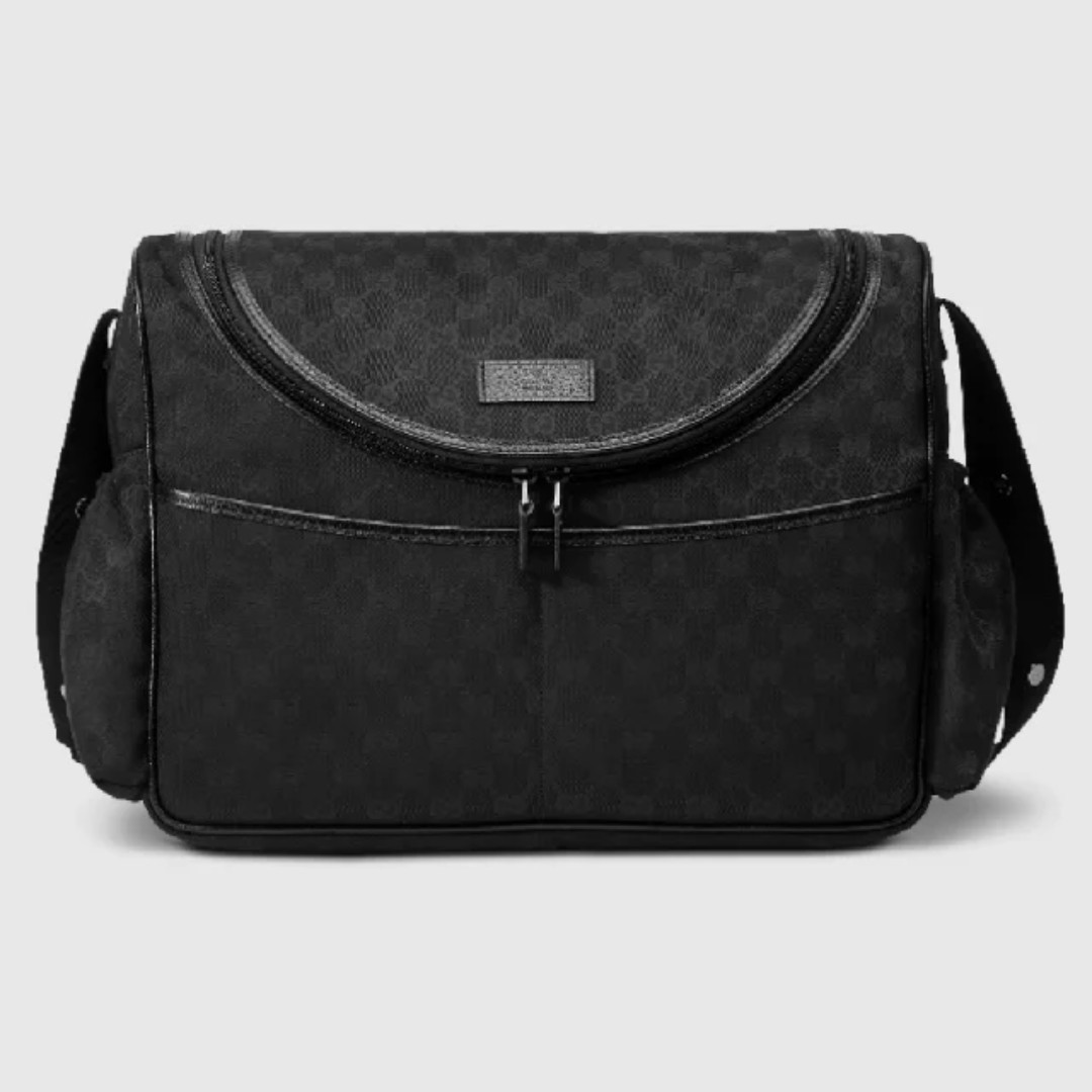 50acf317ca3f96 Gucci Monogram Canvas Baby Diaper Bag, Luxury, Bags & Wallets ...