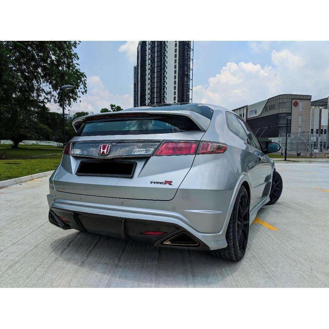 Honda Civic Type R for rent