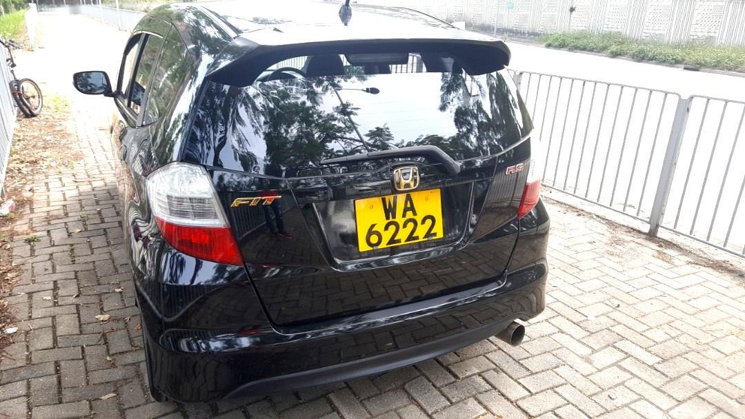 HONDA FIT GE8 RS 2009