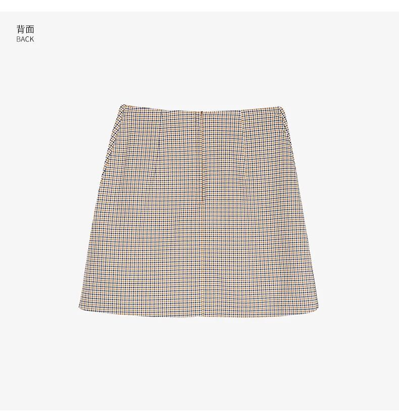 f6171789af [INS] monki check mini skirt, Women's Fashion, Clothes, Dresses & Skirts on  Carousell