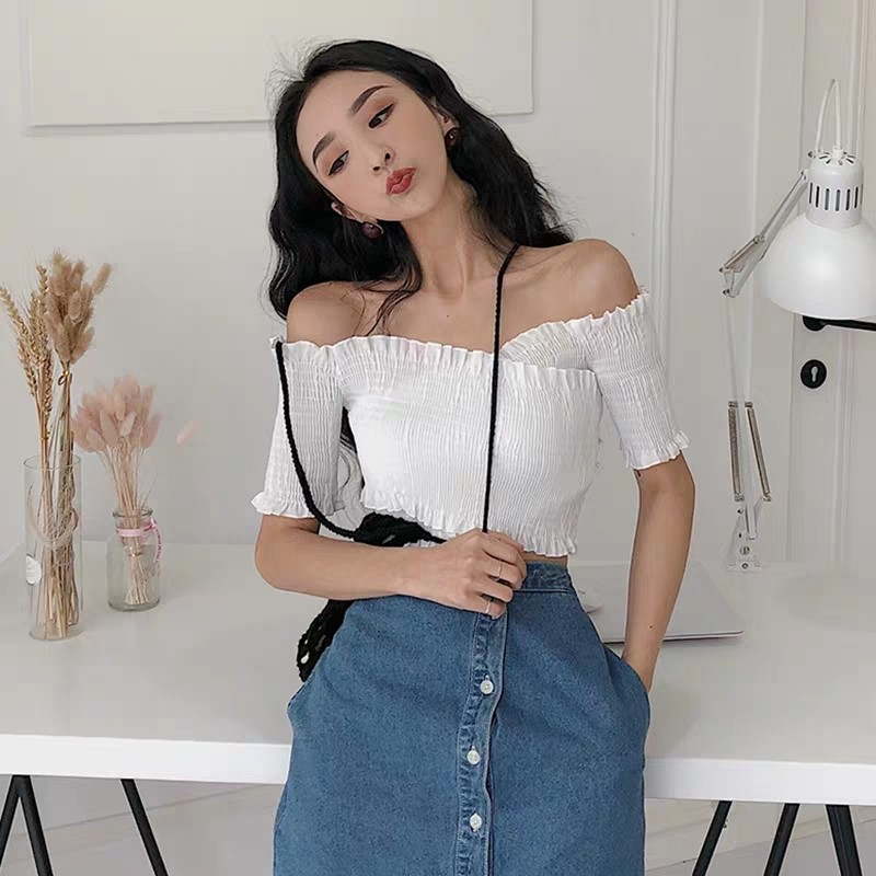 be11658507d5a Instock Sally Off Shoulder Top (Free Mailing), Women's Fashion ...