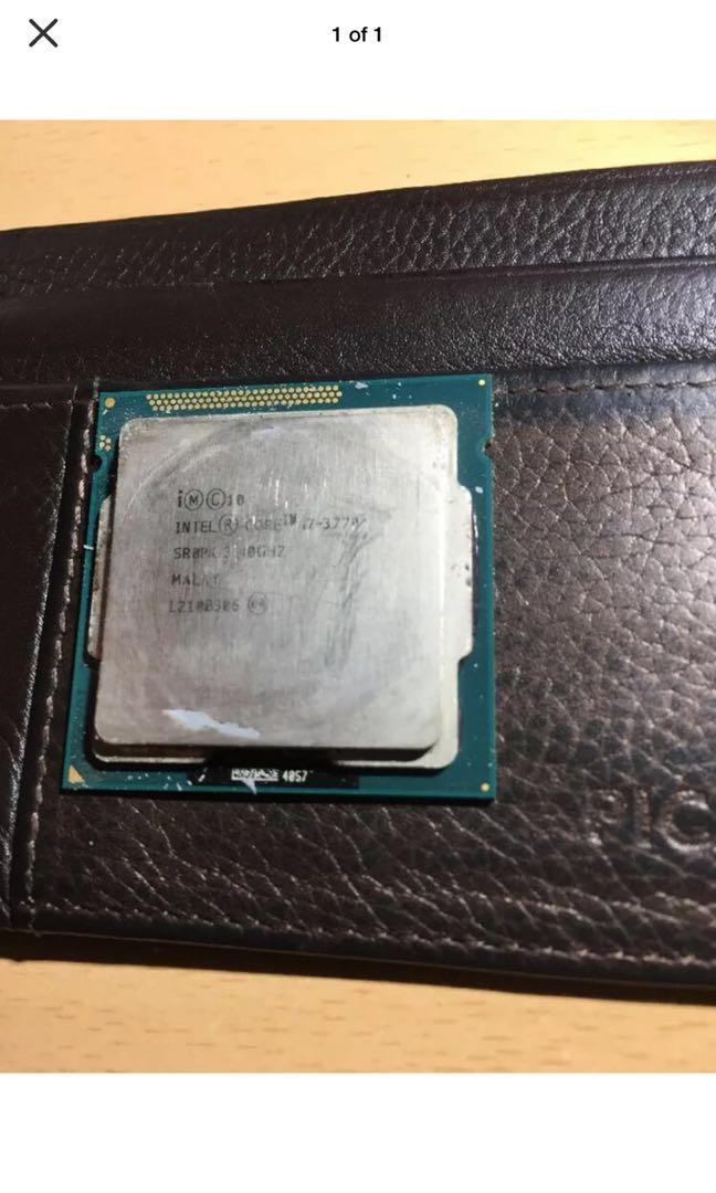 Intel Core i7 3770 Processor 3 40Ghz