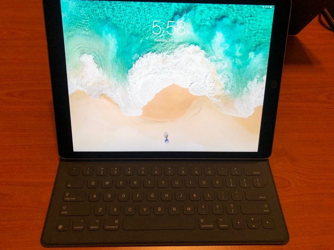 iPad Pro 12 9 with Keyboard Cover