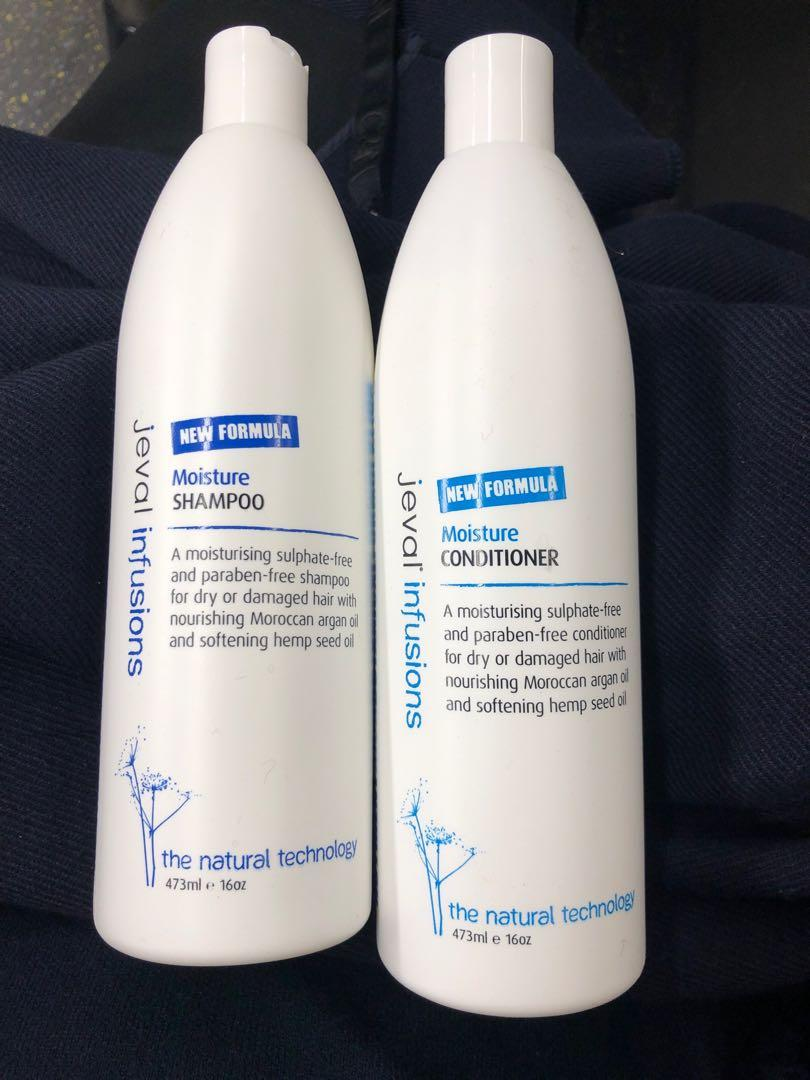 Jeval Infusions Moisture Shampoo & Conditioner Set