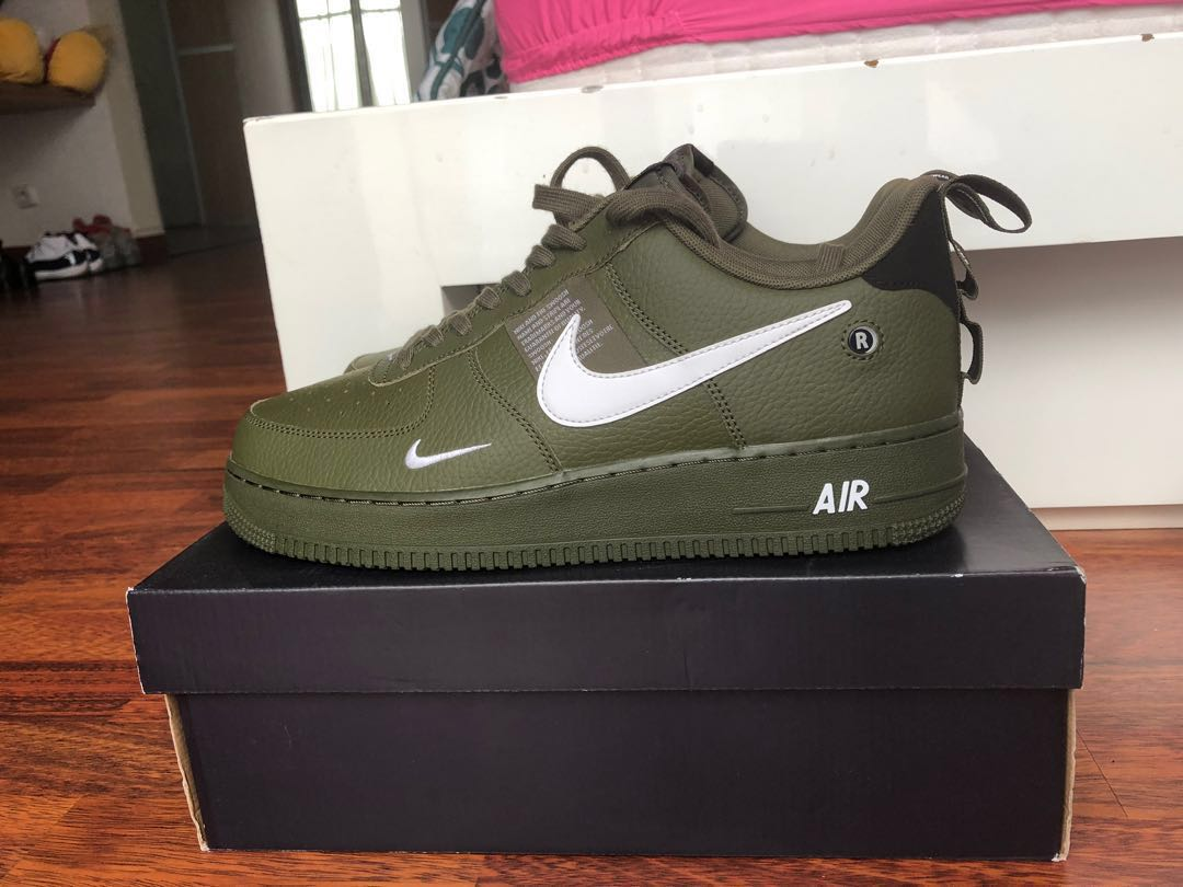 meet fd76e ae6c7 Jual Nike Air Force 1 Utility LVL 8 ORIGINAL, Men s Fashion, Men s  Footwear, Sneakers on Carousell