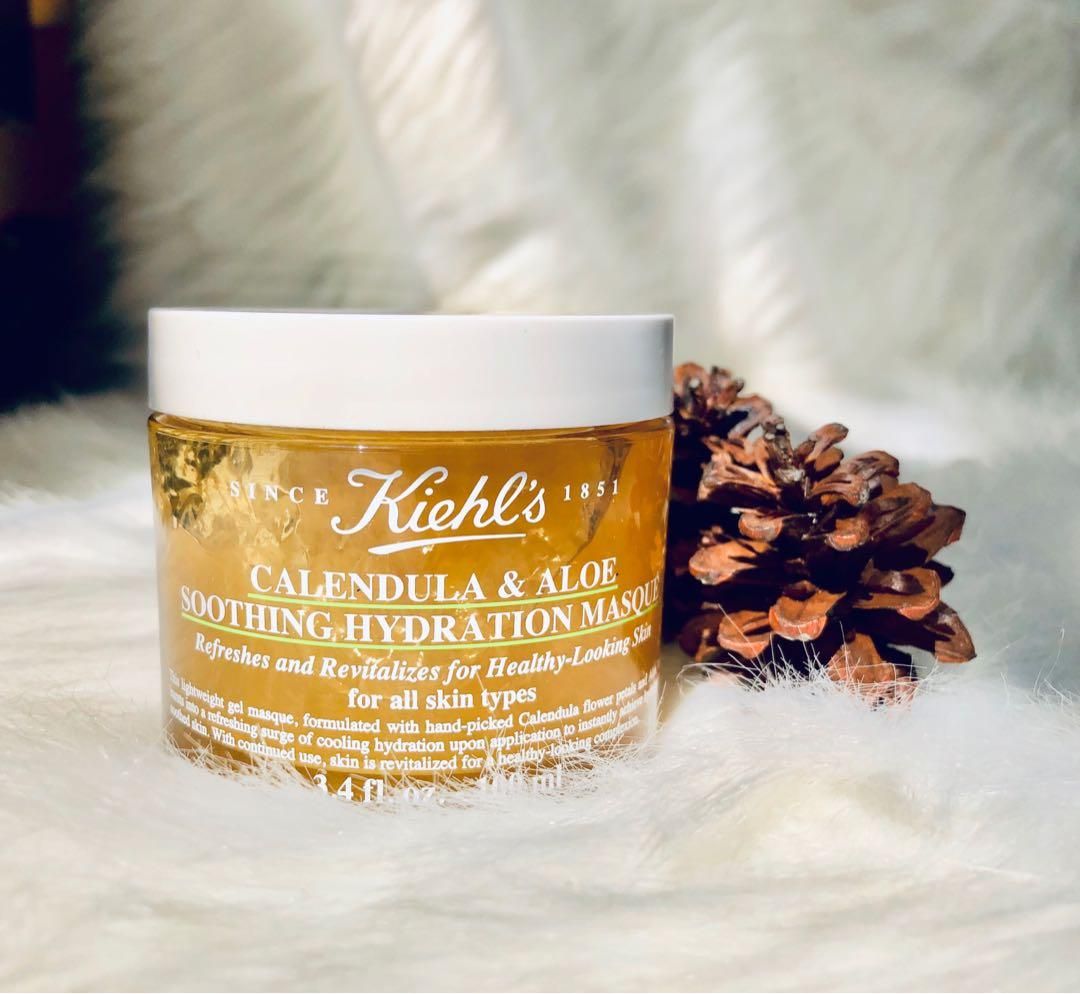 Kiehl's calendula & aloe soothing hydration masque 100 ml