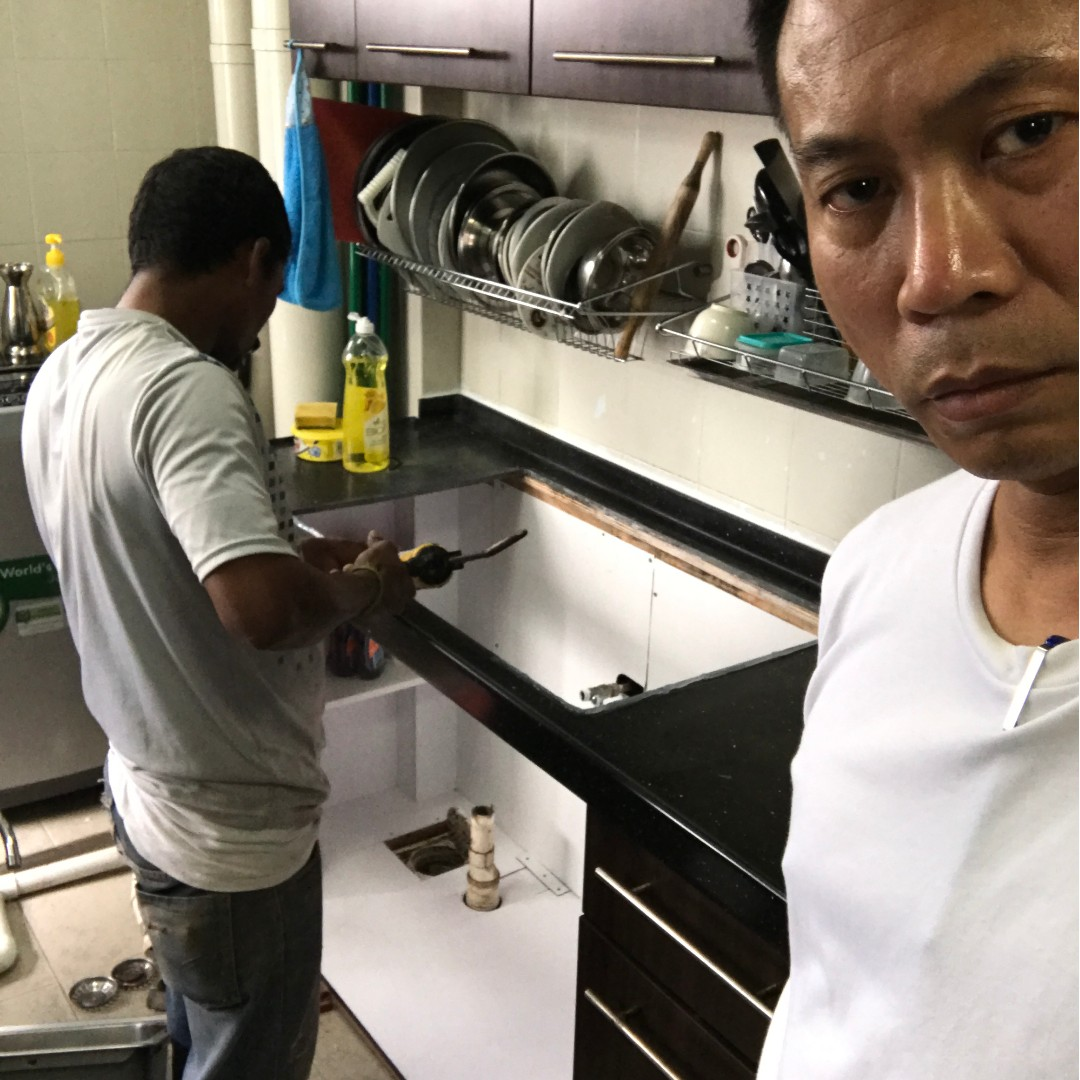 Kitchen Sink Leaking Kitchen Sink Cabinet Repair 800 1500 Lee91288759 Everything Else On Carousell