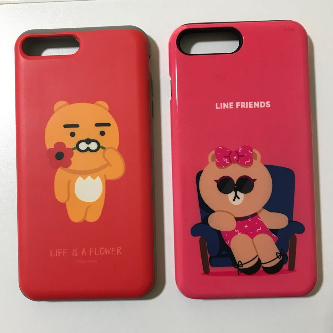 newest 492ff 145bd Line Friends & Kakao Friends iPhone 7 Plus Case