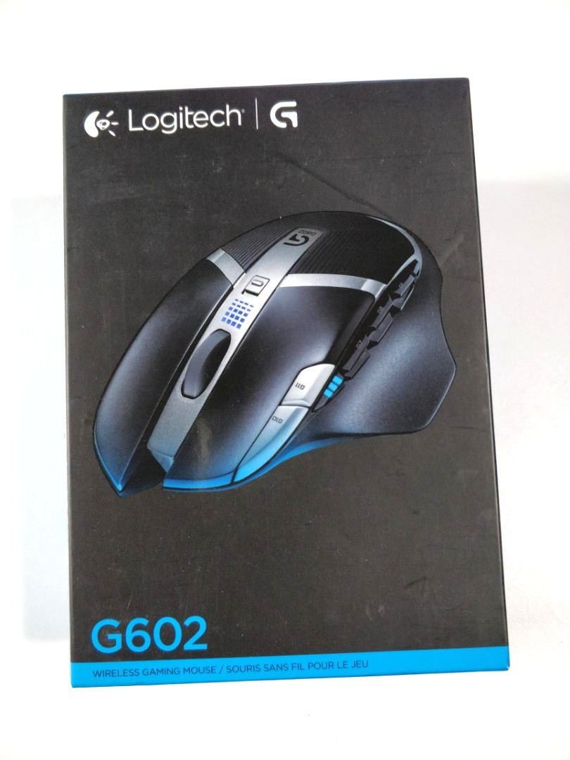 🖱🖲Logitech G602 Lag-Free Wireless Gaming Mouse