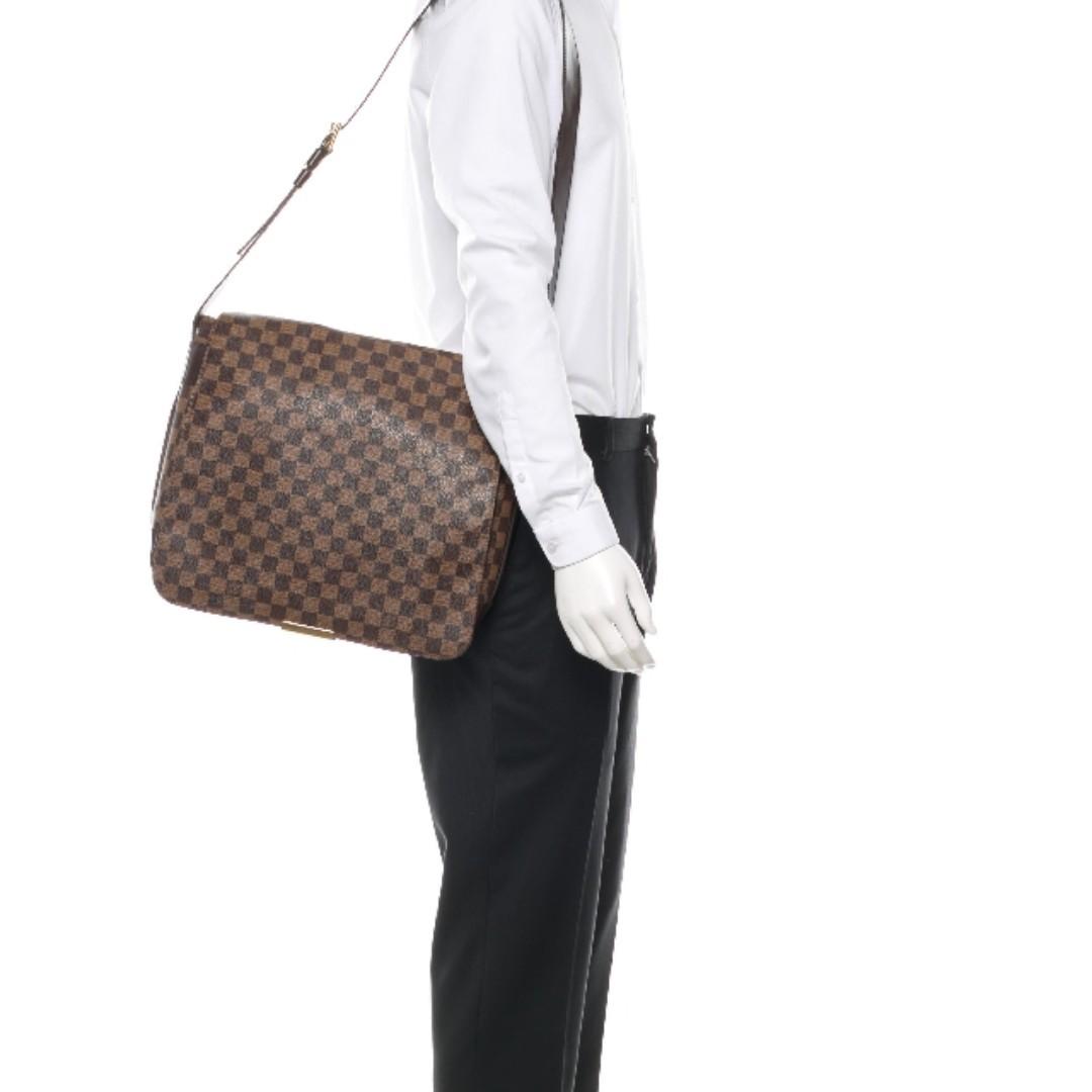 719e6bd244f2 Louis Vuitton LV Damier Ebene Bastille Messenger Bag Unisex