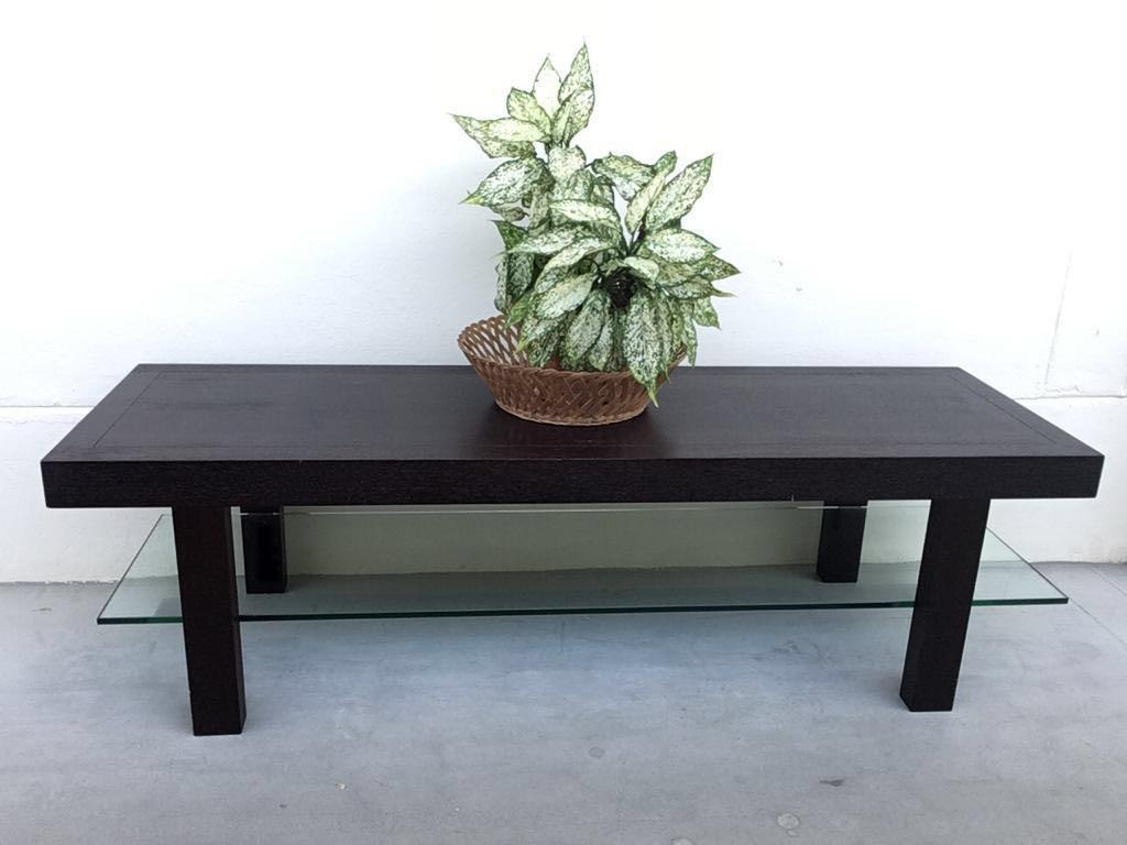 Modern Solid Darkwood Coffee Table Tv Console Furniture Tables Chairs On Carousell