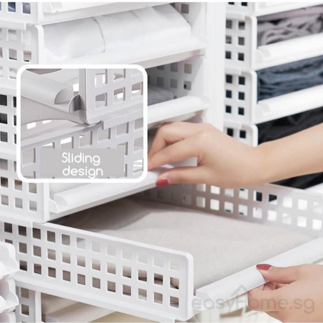 Modular Retractable Drawer Shelf  - B C Design