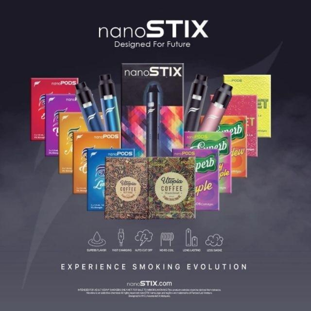 Nanostix and Nanopods Flavor Refill Cartridge