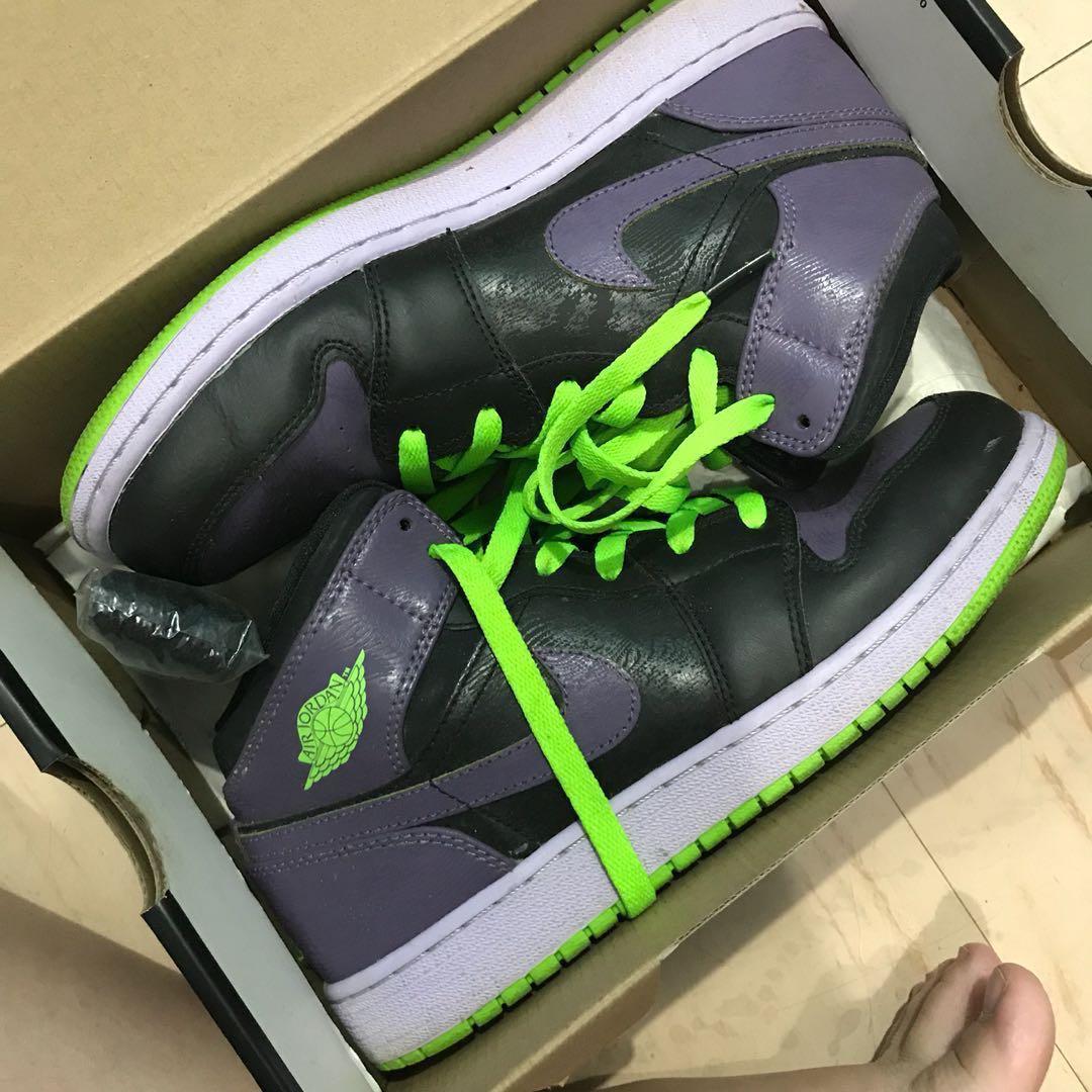 6bcb99c1f09 Nike Air Jordan 1 Retro rubber shoes, Women's Fashion, Shoes on ...
