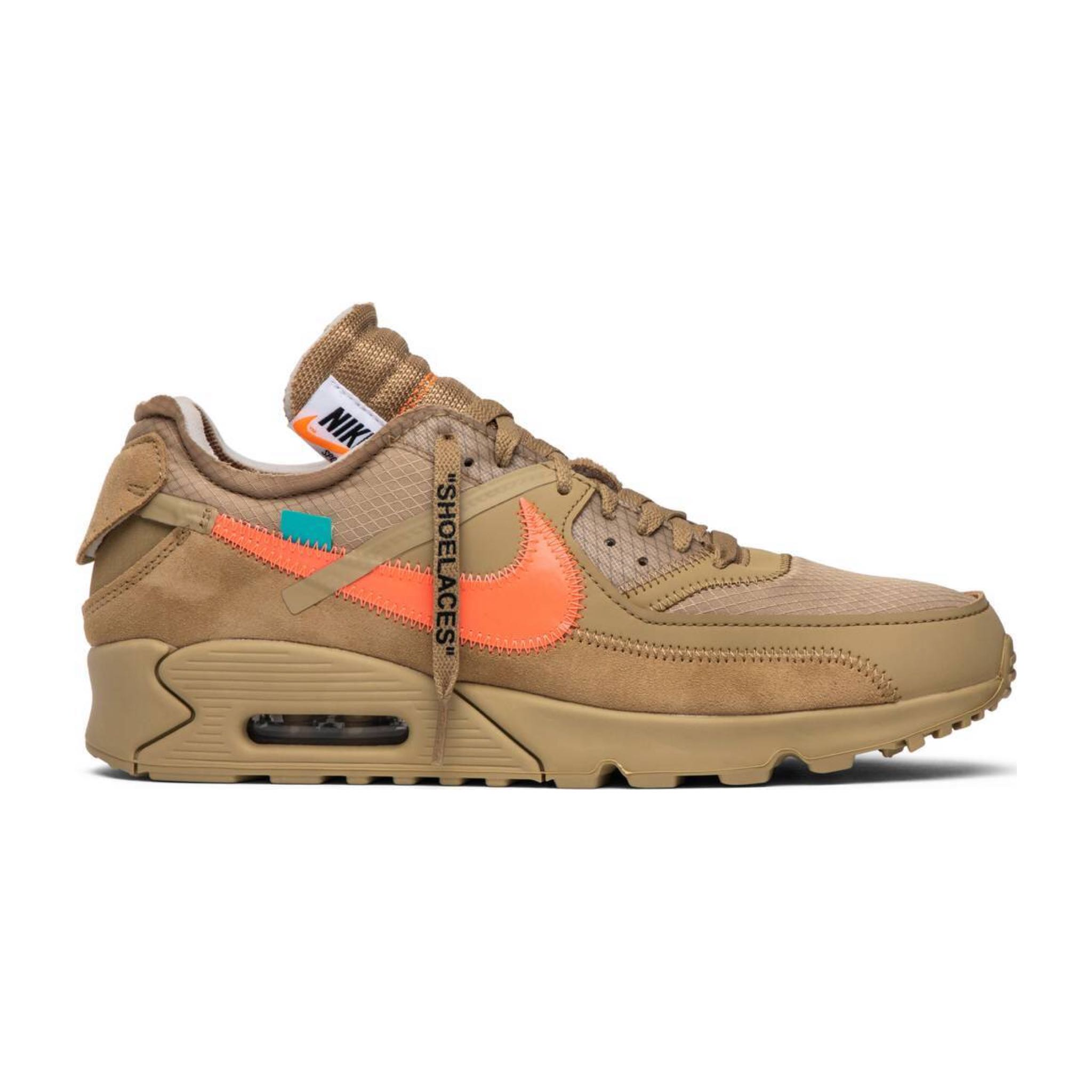 b63ebbcd72 Nike Off White Air Max 90 Beige, Men's Fashion, Footwear, Sneakers ...