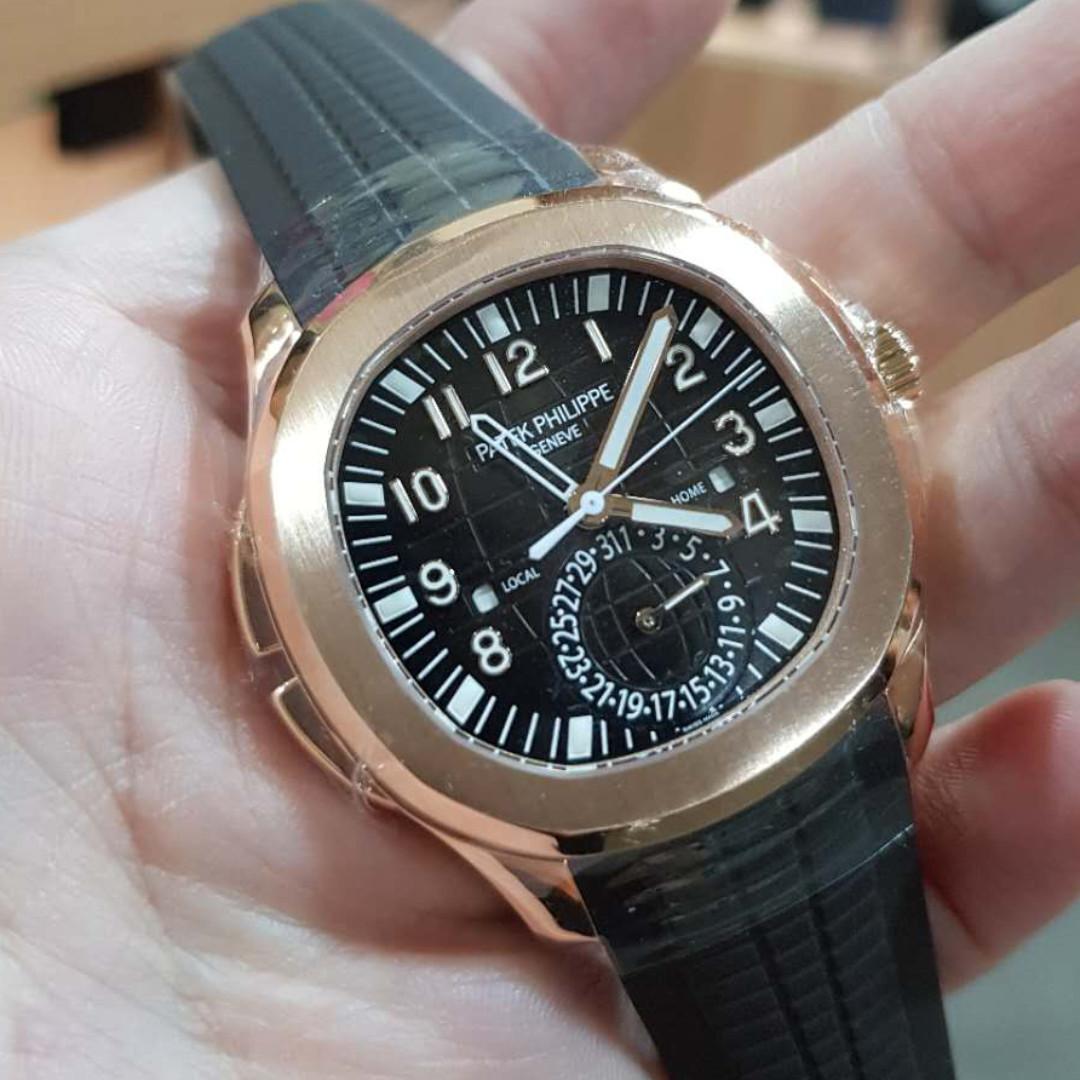 Patek Philippe Aquanaut Rose Gold 5164r 001 Men S Fashion Watches