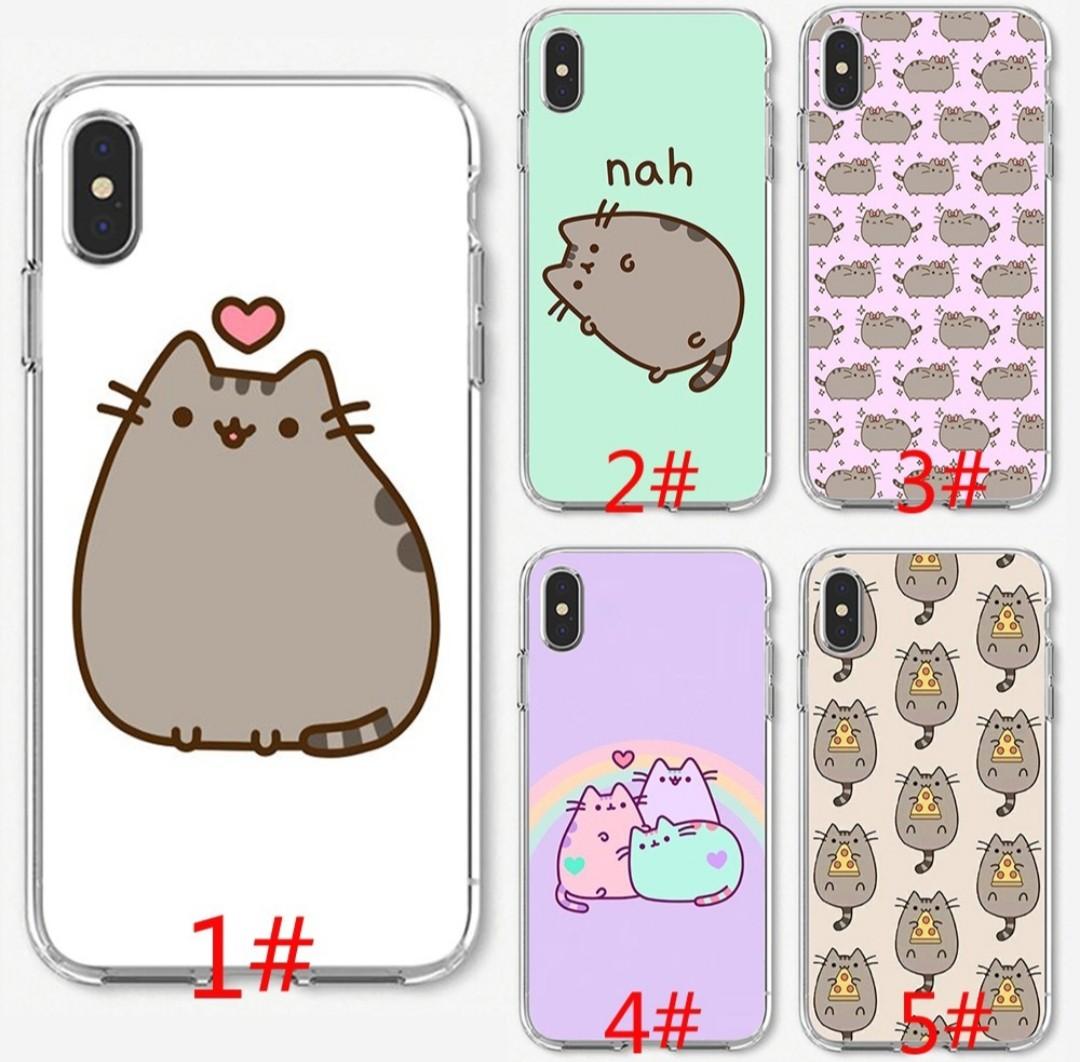 on sale 68792 e4d32 [PO] iPhone Pusheen cat case iPhone 5 6 7 8 X